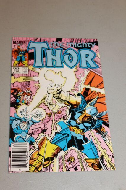 Mighty Thor 339 1st app Stormbreaker Newstand Variant Beta Ray Bill Simonson NM