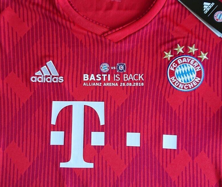 Trikot FC FC FC Bayern 2018-2019 Home - Schweinsteiger 31  Basti is Back 66d37d