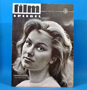 DDR-Filmspiegel-13-1963-Christine-Laszar-Peter-Tormenta-Annette-Woska-L