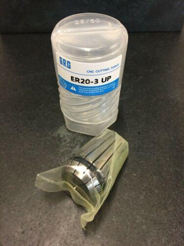 12mm Rundlauf /<0.003  Ultra Präzise Industriequalität Spannzange ER20  3,00mm
