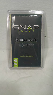 SNAP POWER PLUG OUTLET COVER NIGHT GUIDE LIGHT HALLWAY GUIDELIGHT IVORY