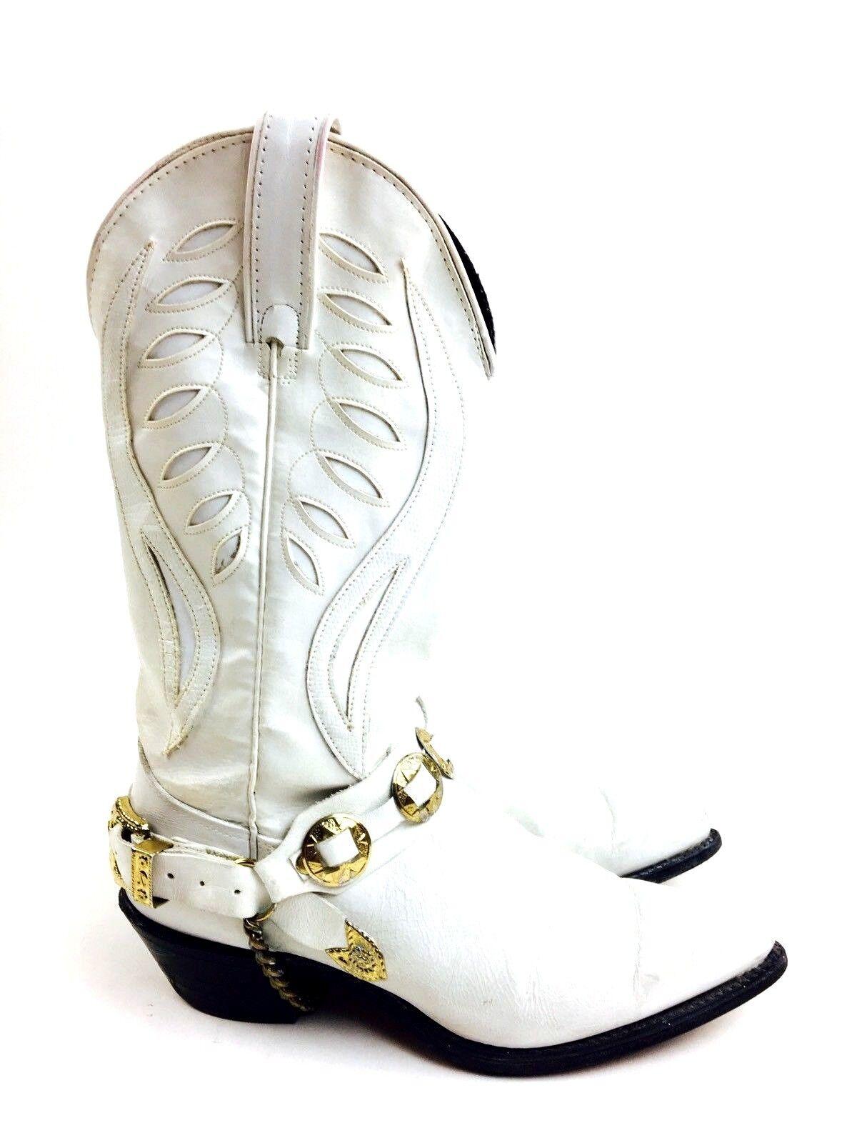 White Cowboy Boots Women's Shoes Women's Boots He… - image 2