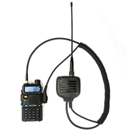 Handheld Speaker Mic Antenna for Kenwood TK2300VP TK3300 NX220 NX230 TH-F7 Radio