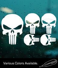 Punisher Bundle Sticker Vinyl Stickers Decal 2nd Amendment Frank Castle Skull