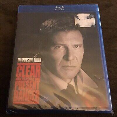 Clear And Present Danger 1994 Harrison Ford Jack Ryan New Blu Ray 97361376189 Ebay