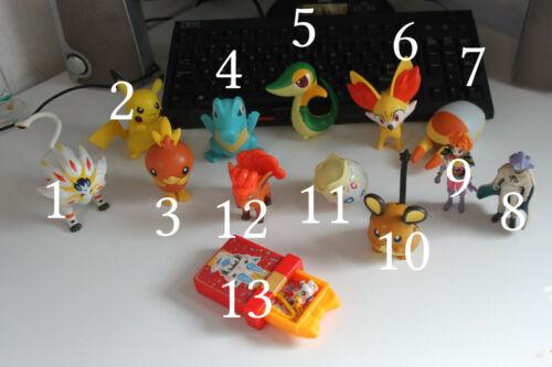 Happy Meal Pokemon e action figure giapponesi orientali