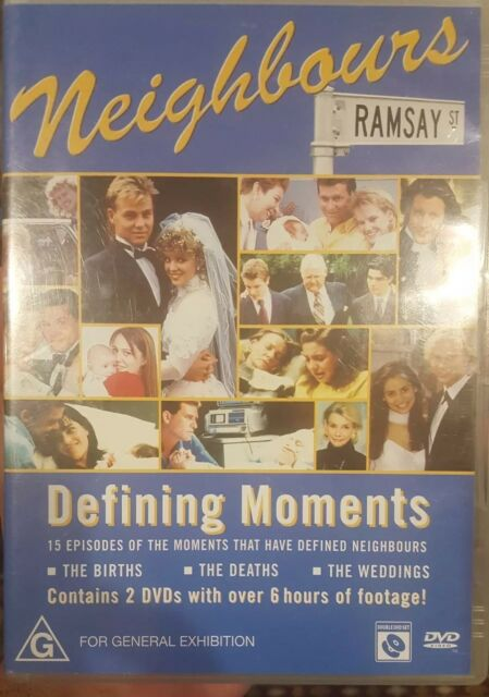 NEIGHBOURS DEFINING MOMENTS RARE DELETED DVD AUSTRALIAN TV SERIES SHOW RAMSAY ST