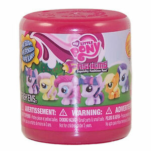 Hasbro-My-Little-Pony-Fash-039-ems-Squishy-Mini-Pack-Action-Figure