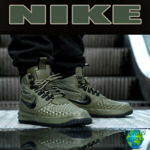Details about Nike Men's Size 8.5 Lunar Air Force 1 Duckboot 17 Olive Green LF1 916682 202