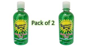 Bahama-Balm-16-oz-Aloe-Vera-Gel-After-Sun-Skin-Care-Pack-of-2