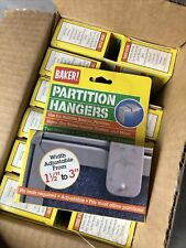 Case Of 12 24 Pieces Cubicle Partition Hangers Adjustable 1 12 To 3 Nos