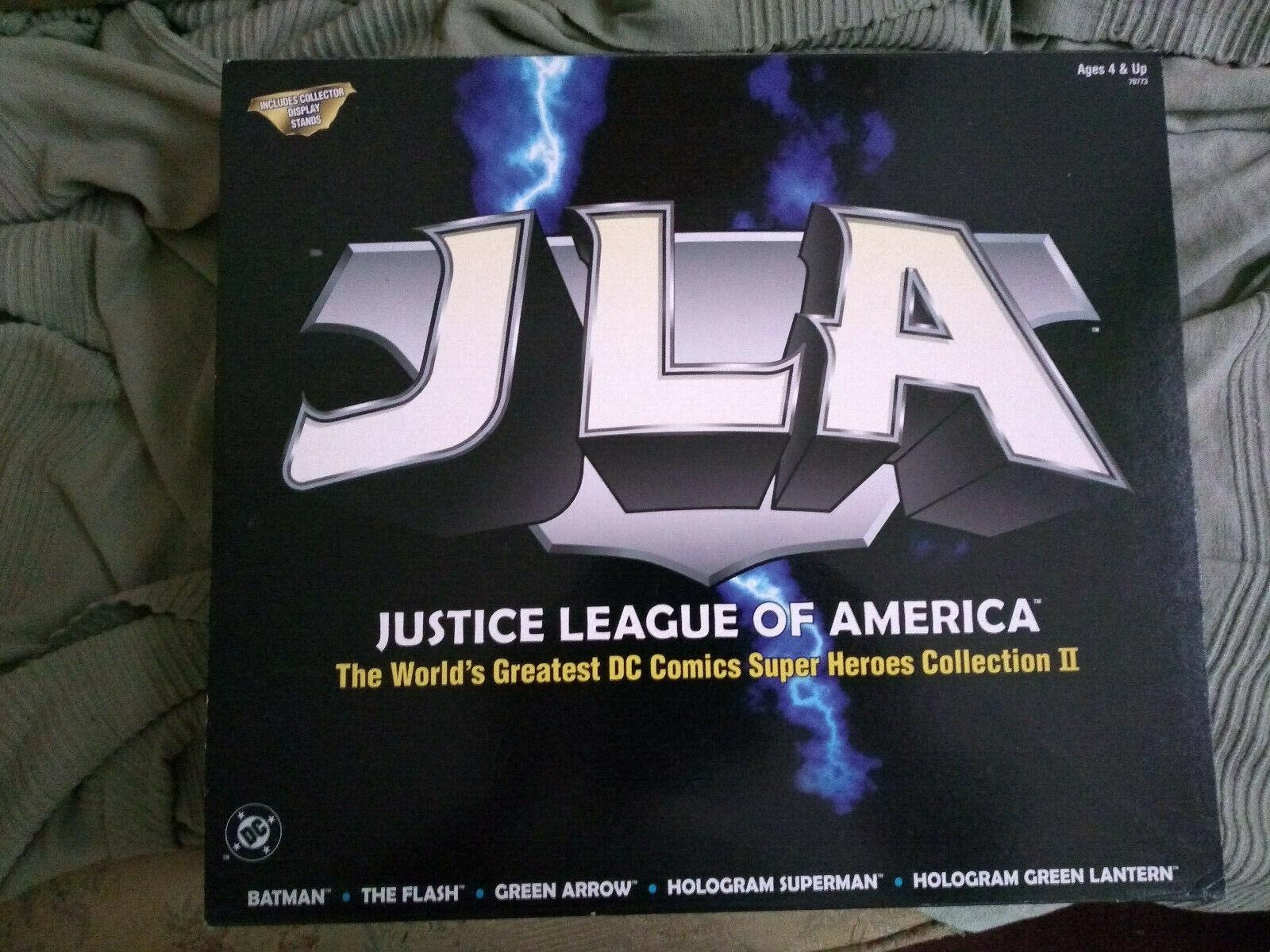 1999 99 DC Hasbro JLA Justice League Super Heroes collection 2 Batman Superman