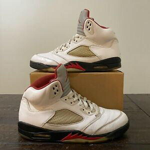 Air-Jordan-5-Fire-Red-2013-Size-11-Retro-1-2-3-4-6-7-8-9-10-11-12-13-14-Nike