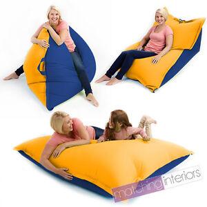 Yellow-Blue-Bean-Bag-Slab-XXL-Giant-Beanbag-Floor-Cushion-Adult-Indoor-Outdoor