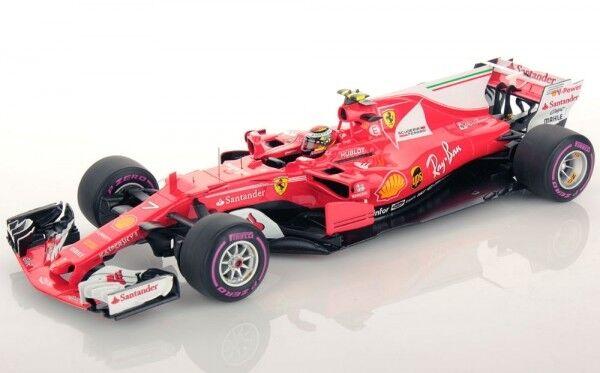 Ferrari Sf70-h No 7 4th Australian Gp Formula 1 2017 ( Kimi Räikkönen)