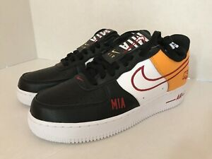 online store 53004 9550b Image is loading Nike-Air-Force-1-Low-NBA-Miami-ID-