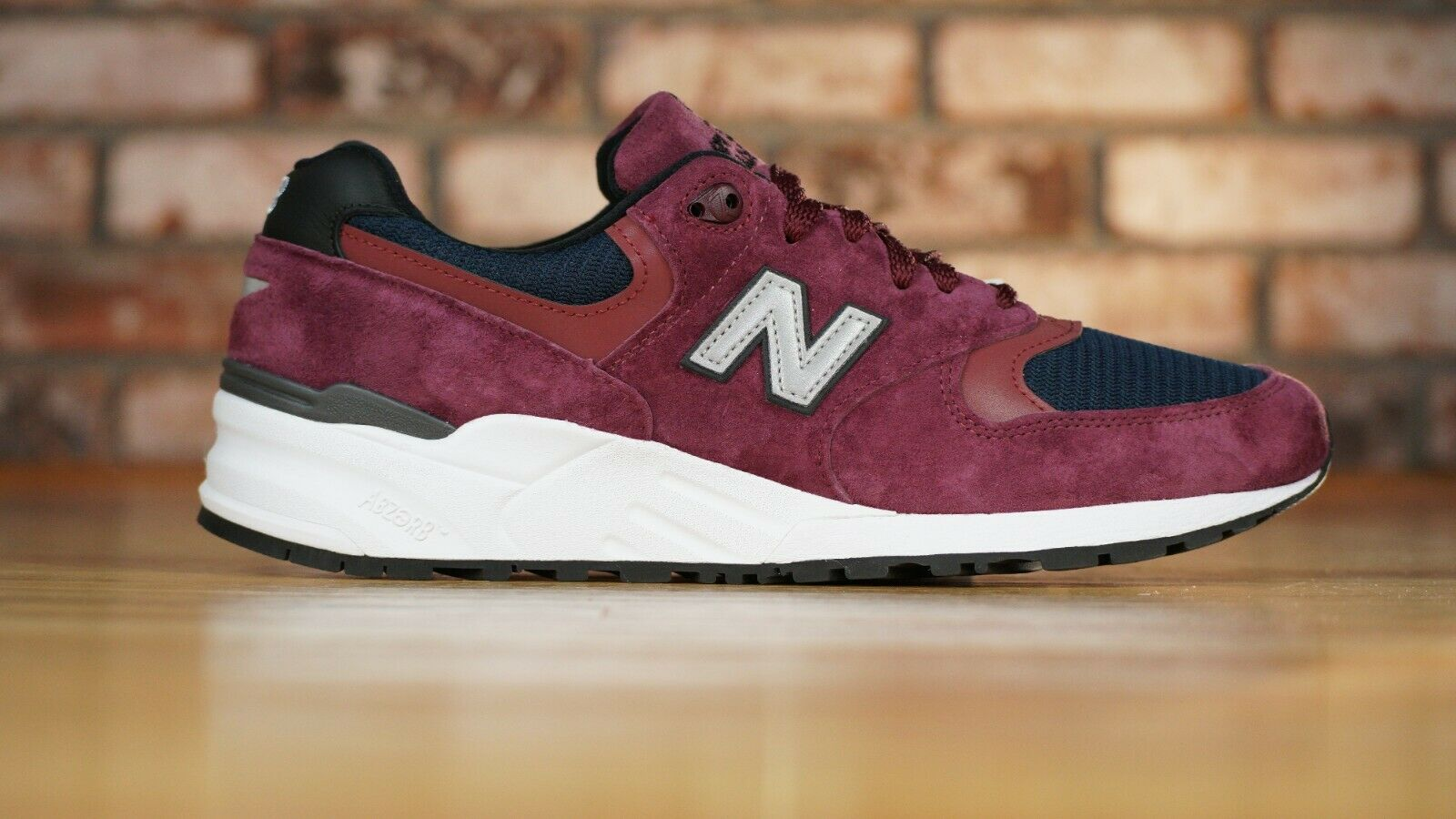 999 Marrón Azul Marino New Balance Hecho en EE. UU. Zapatos para correr M999JTA para hombres D