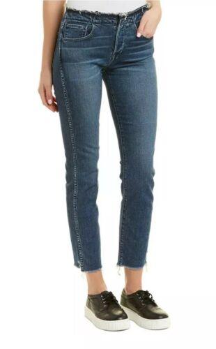 Nyc Mid Jeans dritta Jeans Womens 24 3x1 Taglia blu gamba a Rise tWWar584