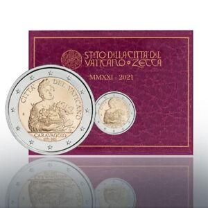 2 euro commémorative Vatican 2021 BU - Le Caravage (Caravaggio)