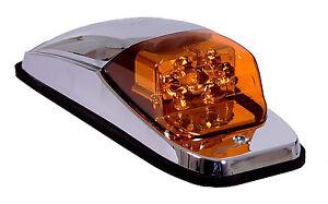 5 kenworth peterbilt roof cab marker light led in amber. Black Bedroom Furniture Sets. Home Design Ideas