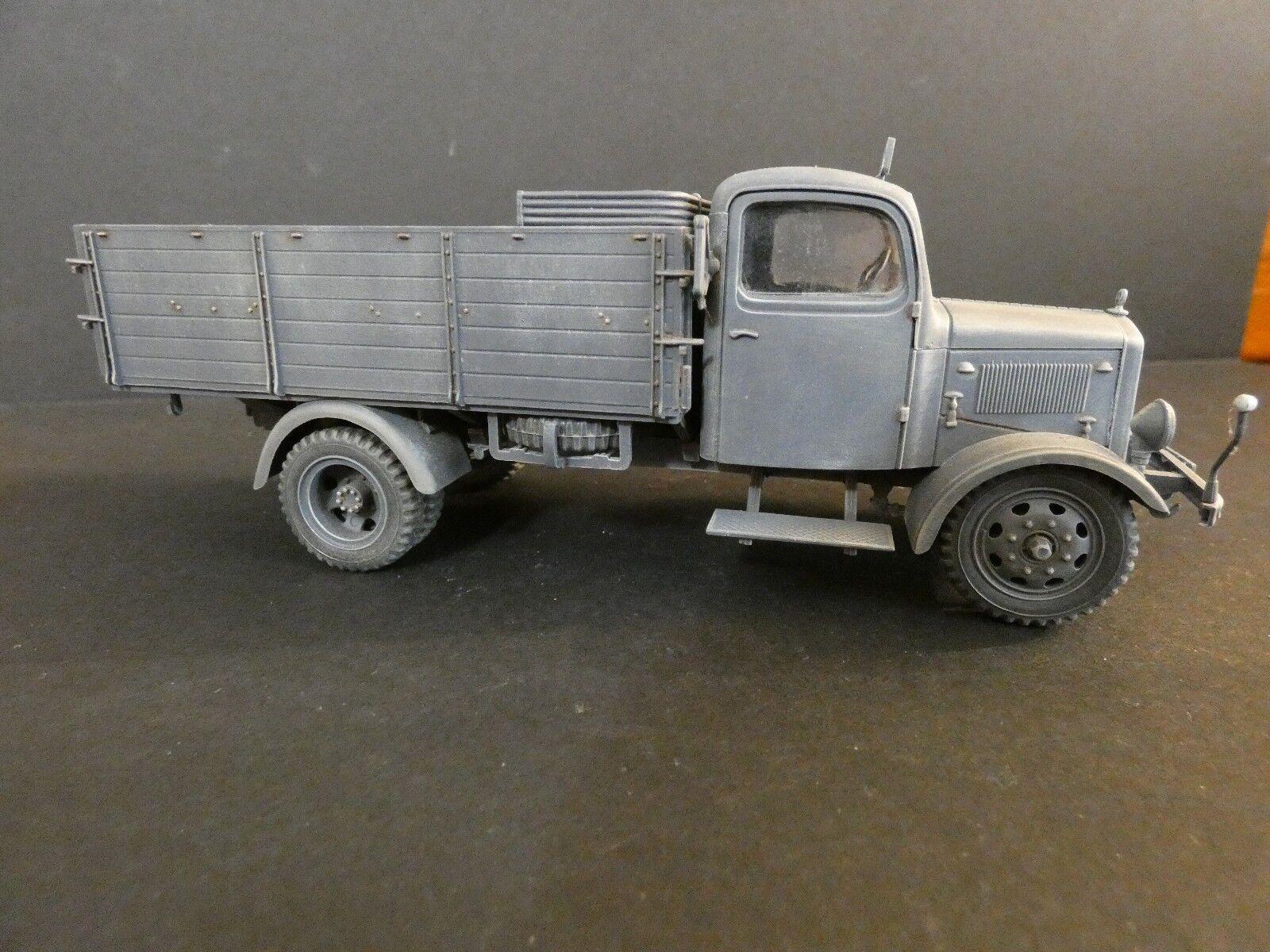 Fabricación profesional 1   35 - Mercedes - - - Benz l3000 Tamiya 32402 0a1