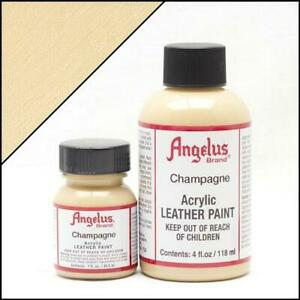 Angelus Champagner (156) Acryl Lederfarbe 29,5ml (20,17€/100ml) Leder Pumps