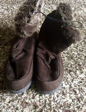 Florence & Fred. F&F. Ladies. SUEDETTE And Faux Fur Ankle Boot
