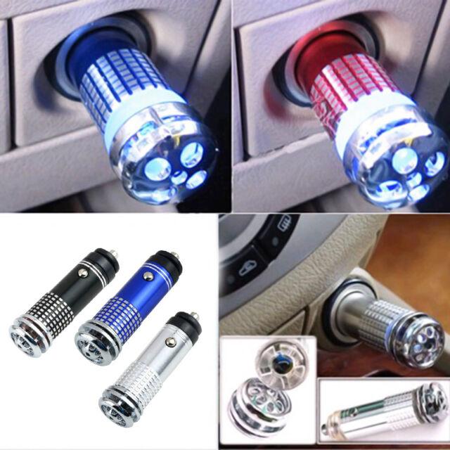Luftreiniger Ionisator Saubere Atemluft Auto Lufterfrischer Duftspender O2V7