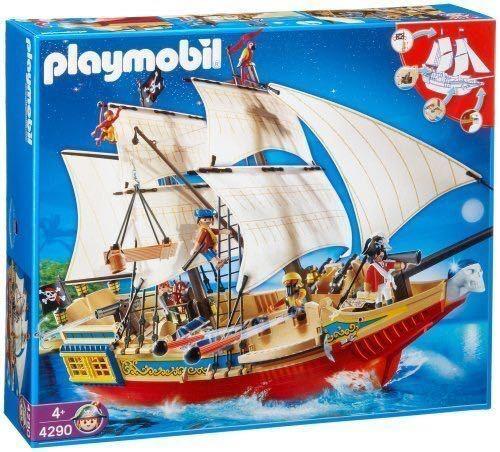 Playmobil 4290 Grand  bateau Pirate en très bon état. NEUF  vente chaude en ligne
