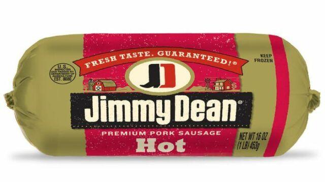 Jimmy Dean Premium Hot Pork Sausage 16 Oz (4 Pack)