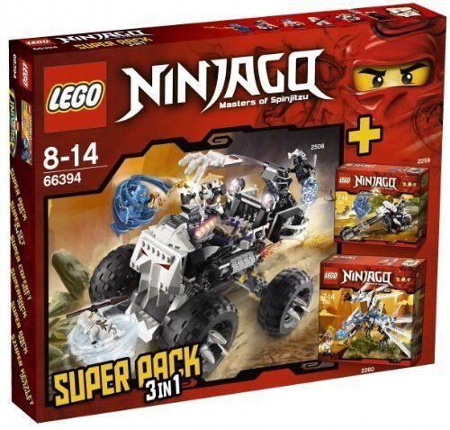 LEGO® NINJAGO 66394  Super Pack 3 in 1  2506+2259+2260 extrem Rar NEU OVP