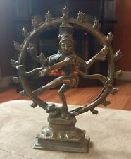 Vintage Indian Hindu Bronze Deity God Statue