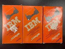 Ibm Lexmark 1337765 Easystrike Lift Off Correction Typewriter Tape Lot Of 3