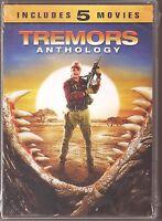 Tremors Anthology Collection 1, 2, 3, 4 & 5 - Dvd 5-movie Set Brand