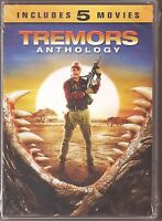 Tremors Anthology Collection 1, 2, 3, 4 & 5 - Dvd 5-movie Set Brand