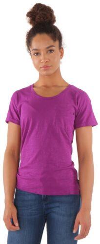 S L M Replay Damen T-shirt Lila XS