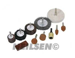 Details about Neilsen Drill Attachment Polishing Buffing Sanding Wheel  Cleaning Rust 3124