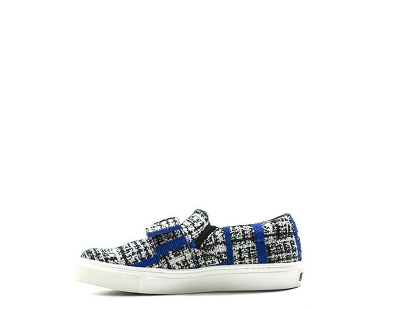 zapatos KARL LAGERFELD mujer Slip On  azul 71KW4002-316 Tessuto 71KW4002-316 azul aacaf0