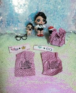 LOL Surprise Independent Queen Doll Set Big /& Lil Sisters Confetti Pop Series 3