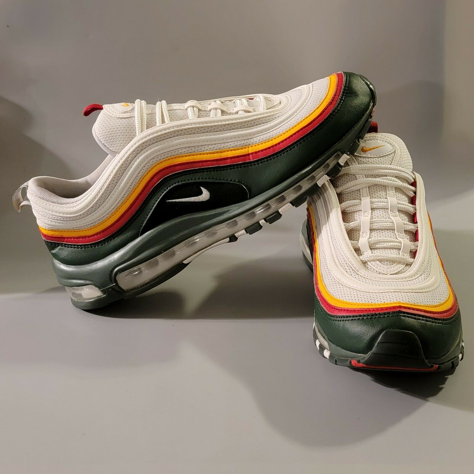 Size 11 - Nike Air Max 97 SE White Evergreen 2019 for sale online ...