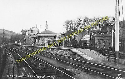 Brynmenyn to Ogmore Vale and Hendreforgan. 3 Blackmill Railway Station Photo