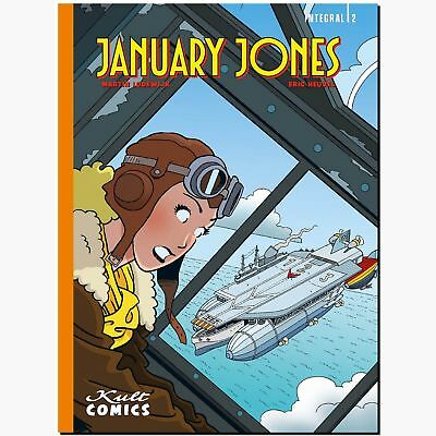 January Jones INTEGRAL 2 Gesamtausgabe Ligne Herge KULT FLIEGERSTAFFEL COMiC NEU