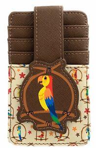 Disney Parks Enchanted Tiki Room Birds Credit Card Holder ID Wallet RFID - NEW