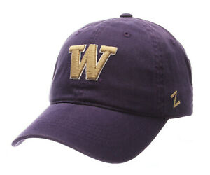 WASHINGTON-HUSKIES-NCAA-ADJUSTABLE-STRAPBACK-SCHOLARSHIP-PURPLE-DAD-CAP-HAT-NWT