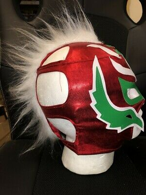 UK B Red Mohikaner 2019 Cosplay Wrestling Maske Wwe