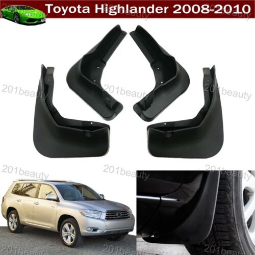 Mud Flaps Splash Guard Fender Mudguard Mudflap For Toyota Highlander 2008-2010