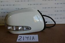 06 07 08 Mercedes ML350 Passenger side Mirror Used Power White # 2141-A