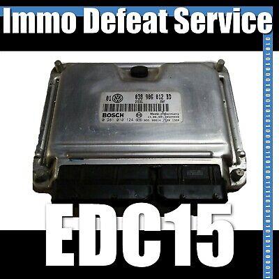 Immobilizer Defeat Service for BOSCH ECU ECM EDC16 Diesel TDI VW Immo Delete
