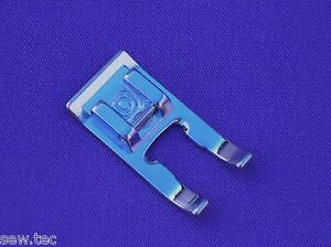 OPEN TOE EMBROIDERY FOOT 7MM SNAP ON COMPATIBLE WITH BROTHER BABYLOCK AND OTHER