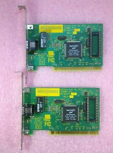 2-TWO-x-3COM-3C900B-TPO-10-MBPS-RJ45-PCI-ETHERNET-NETWORK-CARDS-ADAPTERS